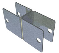 SEF2001 Fence Panel Clamp